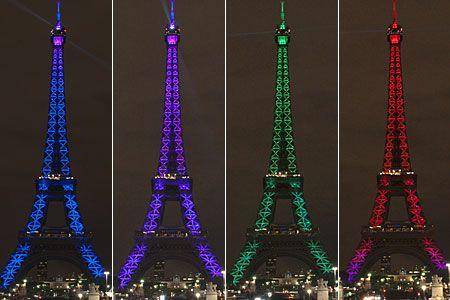 Eiffel tower - 120 ANIVERSARIO La Torre Eiffel Pinterest