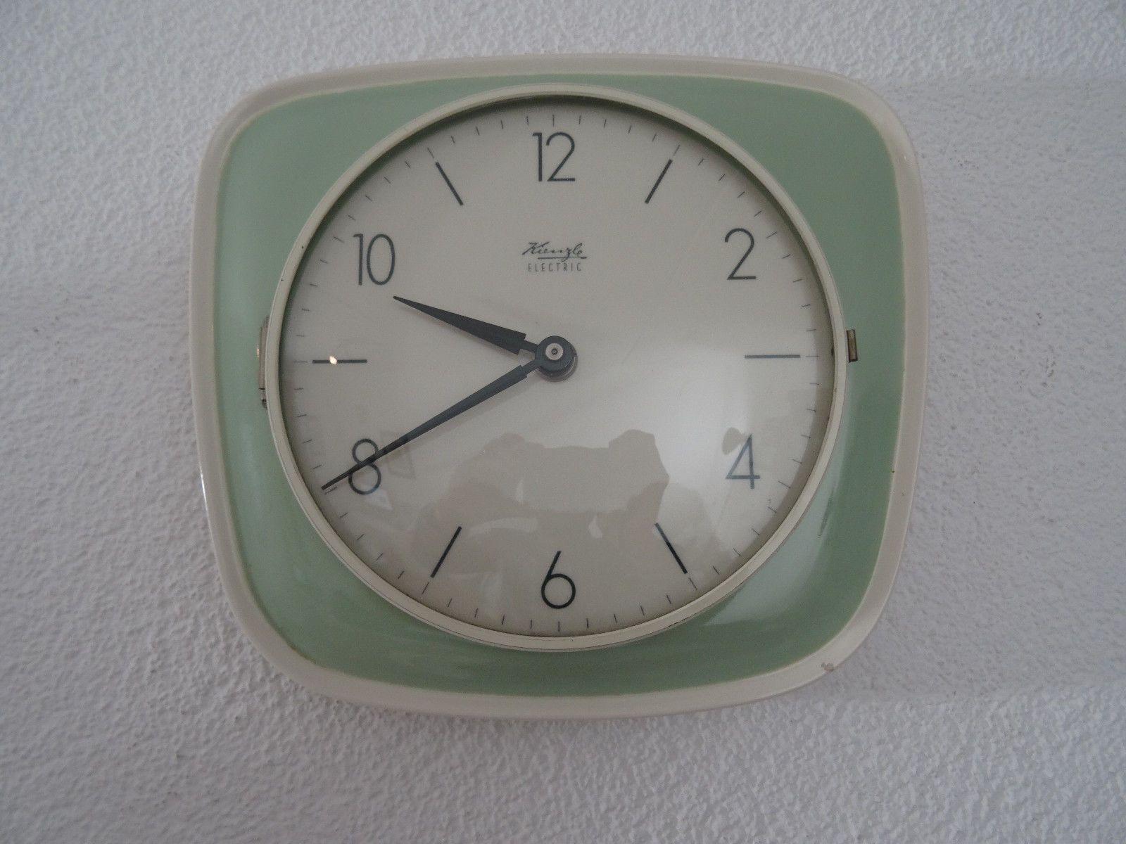 Details About Retro Vintage Ceramic Kitchen Wall Clock Art