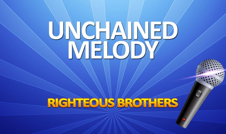 Unchained Melody KARAOKE Unchained melody, Karaoke songs