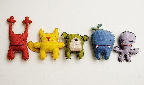 Plüsch Spielzeug für Kinder Stofftiere Nähen Deko Stofftiere