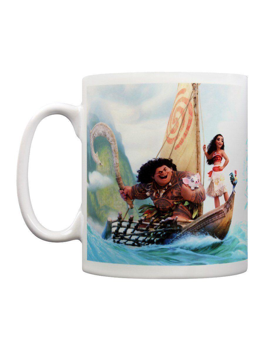 Disney Moana Kaffeebecher Boat weiß: Amazon.de: Küche & …   Vaiana ...