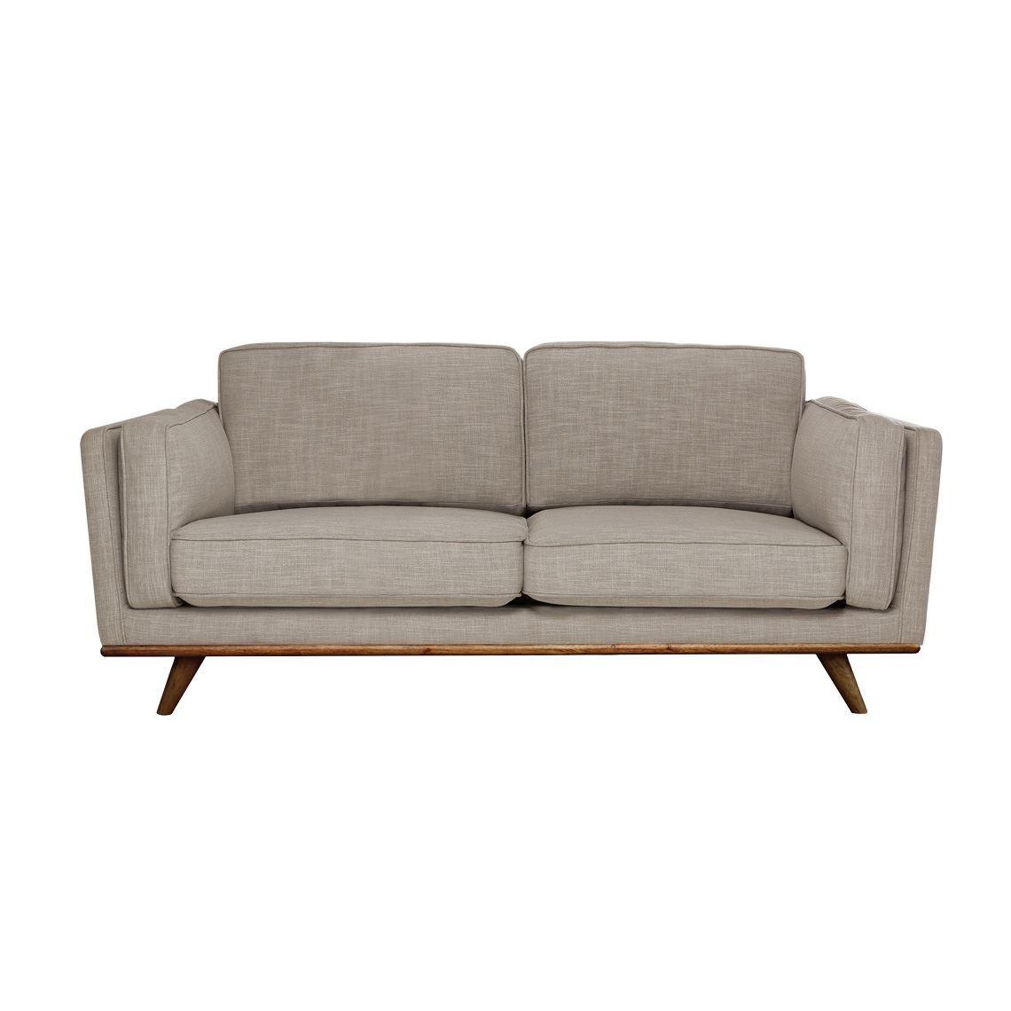 Dahlia 2 Seat Fabric Sofa Size W 166cm X D 93cm X H 80cm In Shell 90 Polyester 10 Linen Woven Freedom Fabric Sofa Elegant Sofa Sofa