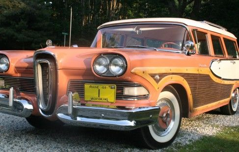 1958 Edsel Bermuda Station Wagon For Sale Edsel Station Wagon Wagon