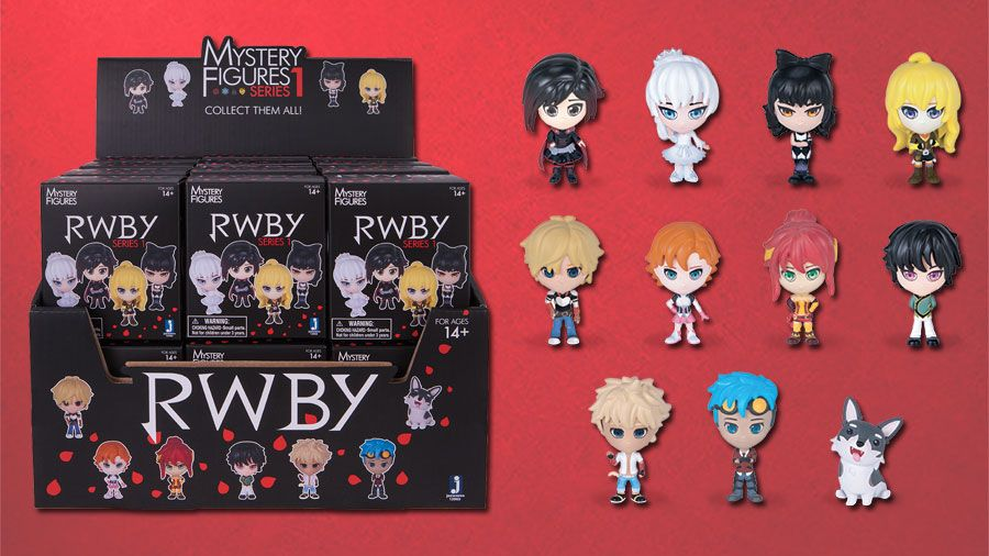 How many of you have our #RWBY Mystery Figures? Available at select retailers now. Check them out!