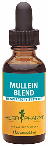 Herb Pharm Certified Organic Mullein Blend Extract for Respiratory System…