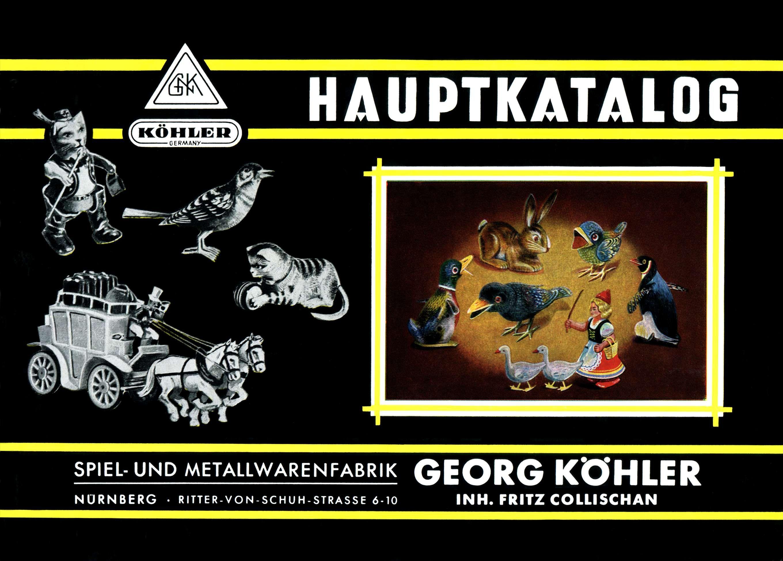 Online-Museum Georg Köhler Spielzeug Foto vom original Köhler ...