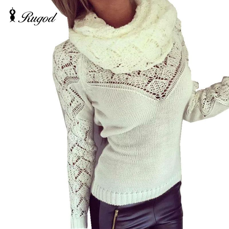 Pull femme women sweater 17 autumn spring gilet femme manche longue ... eee74054c