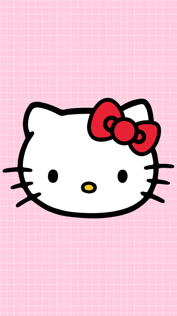 Download Wallpaper Hello Kitty Pink HD