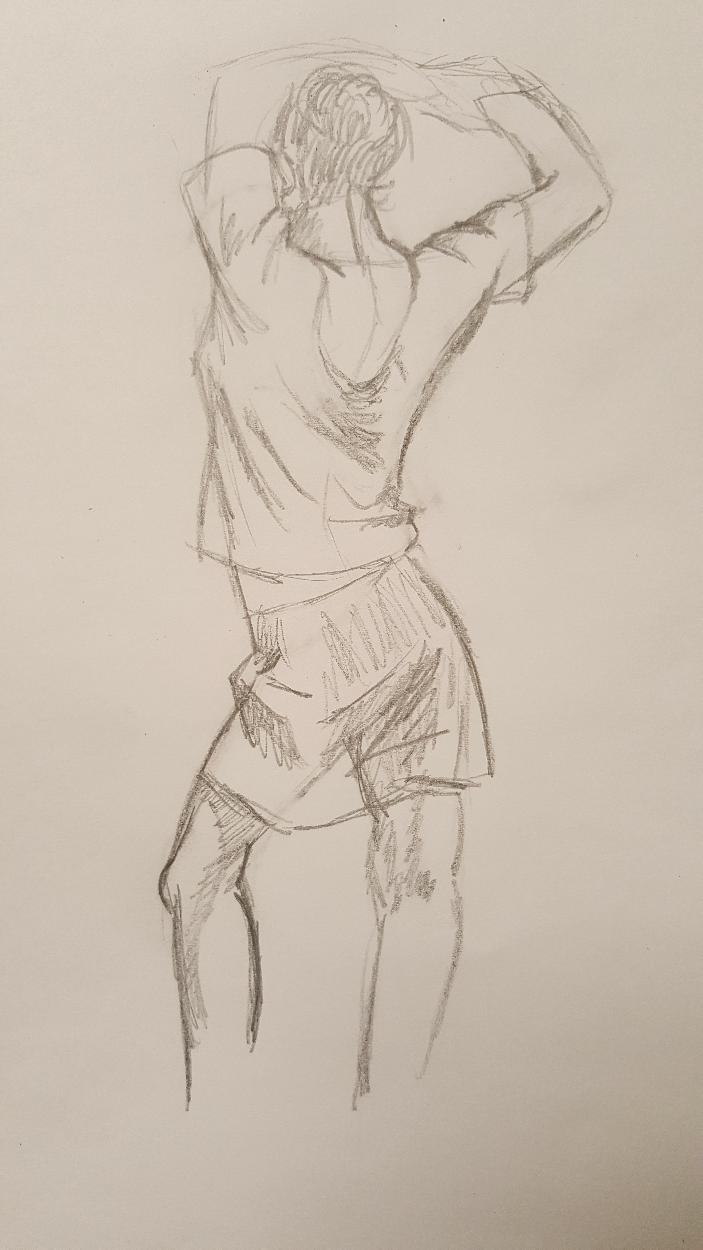 Clothed Figure