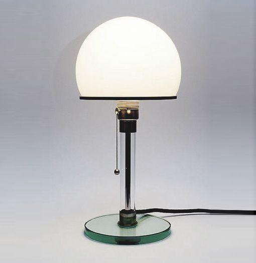 Wilhelm Wagenfeld´s Bahaus Lamp home lamp Pinterest