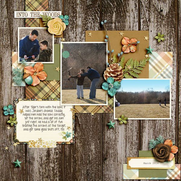 Into The Woods Kit: Woodland Winter and Woodland Winter: Cards by Studio Flergs