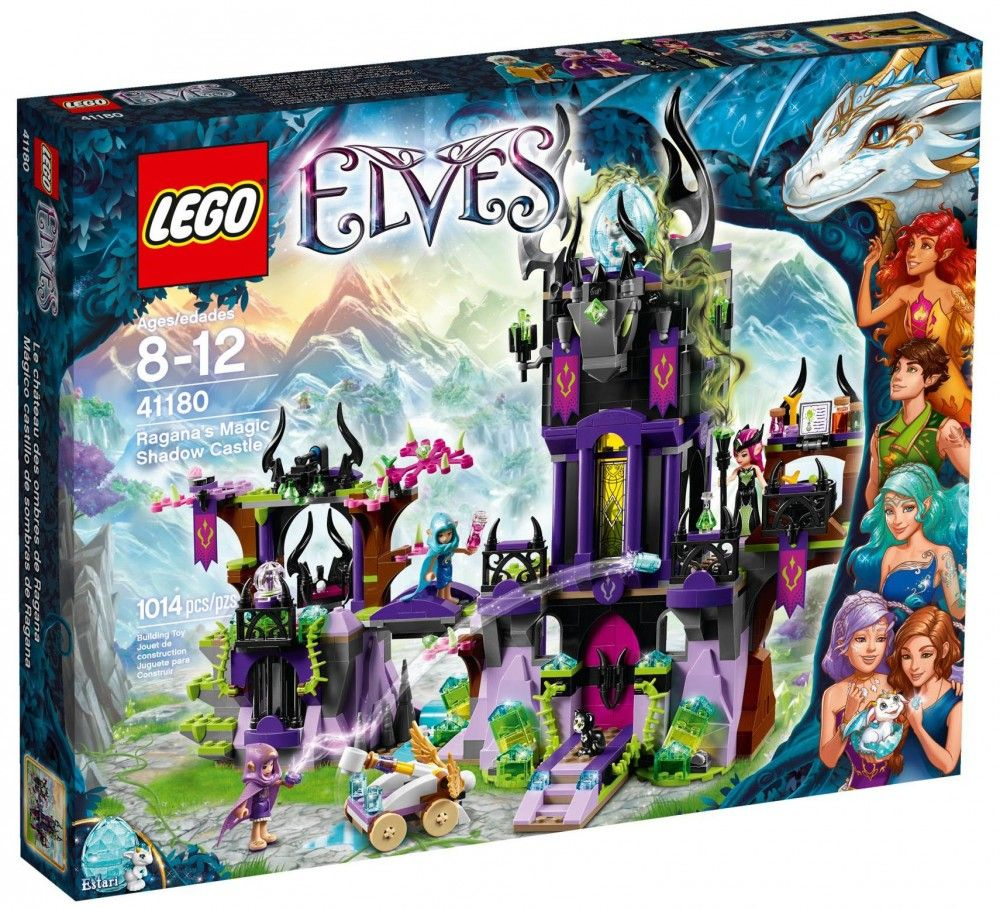 Lego Le Château De RaganaLegoJeu 41180 Ombres Des Elves mNvw80n