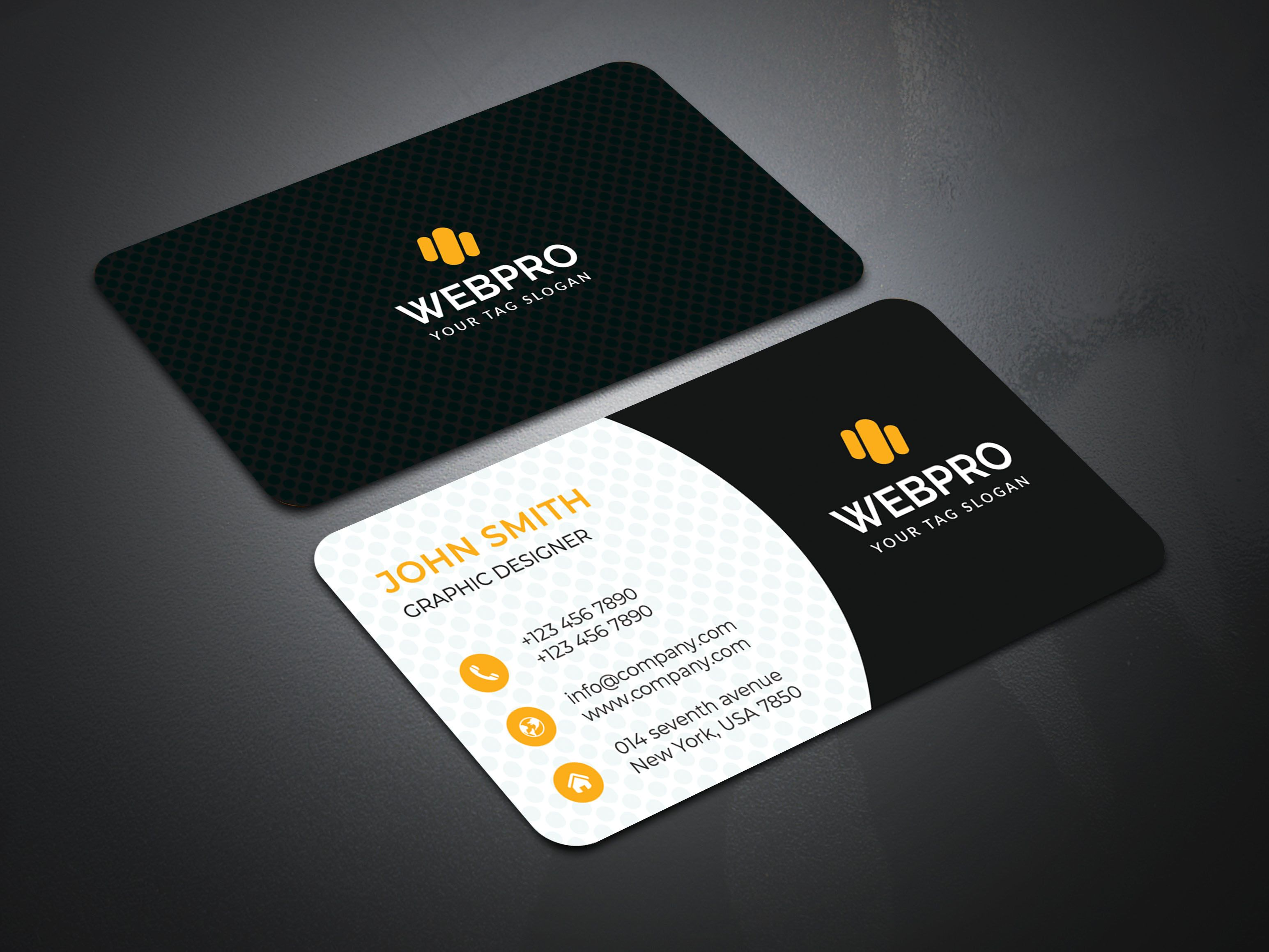 Are You Looking For A Corporate Business Card Designclick The