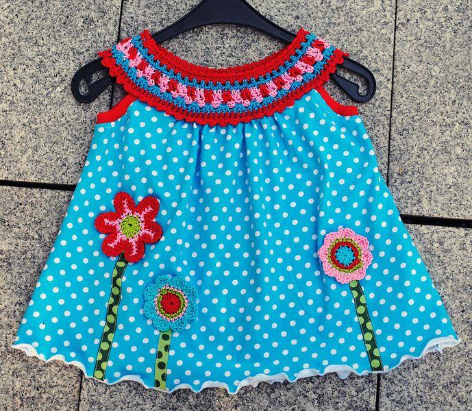 Häkelkragen in versch. Farben und Größen #vestidosparabebédeganchillo