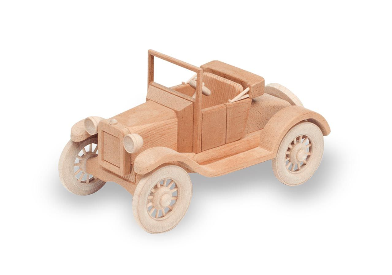 Patterns Kits Cars 56 1921 Model T Ford Wooden Toy