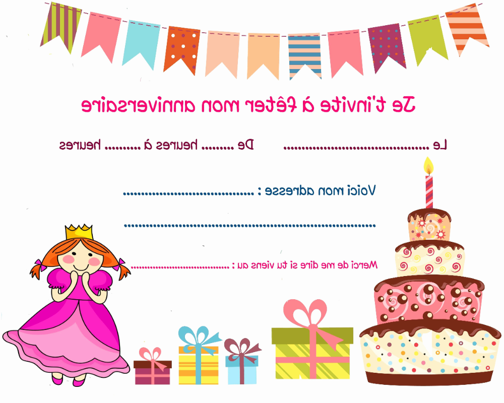 Carte D Anniversaire Fille 6 Ans Awesome 42 Genial De Texte Anniversaire Fille 6 Ans