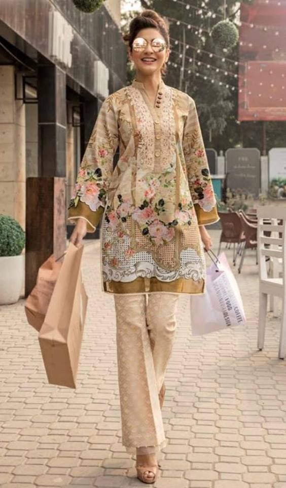 5e3cff7526 Summer Lawn Suits Collection at IBAAS. Visit: www.ibaasdesigner.com Contact:  011-41088377 #summersuits #lawnsuits #lawncollection #ibaasdesigner ...