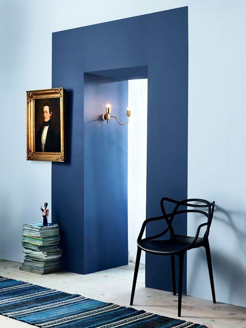 Bellas geometrías de colores en tus paredes interiors wall