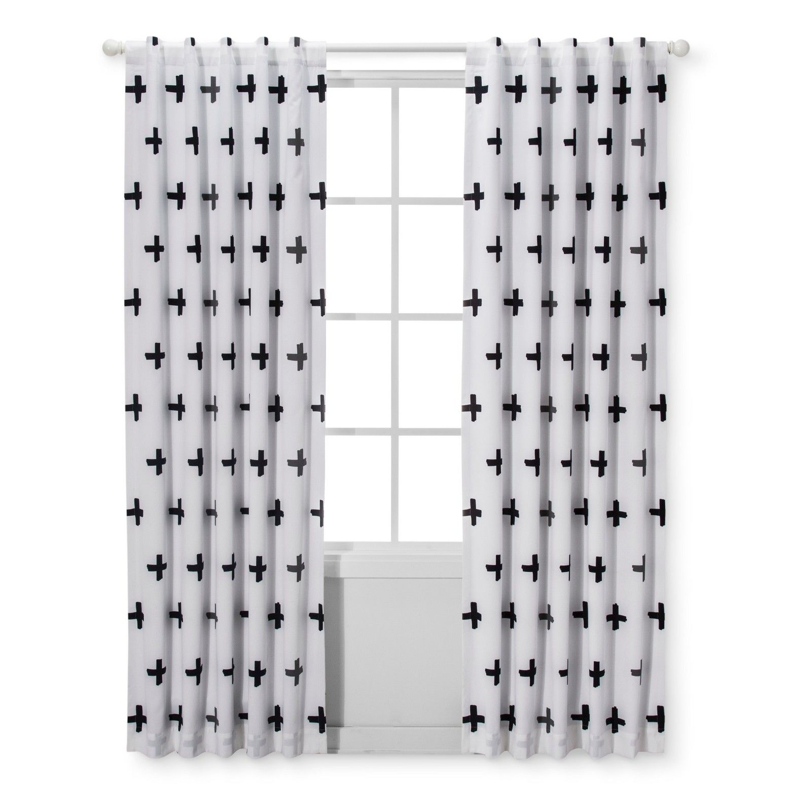 When Baby Sleeps Well So Do You And With The Black And White Light Blocking Window Panel Light Blocking Curtains Boys Room Curtains Black Curtains