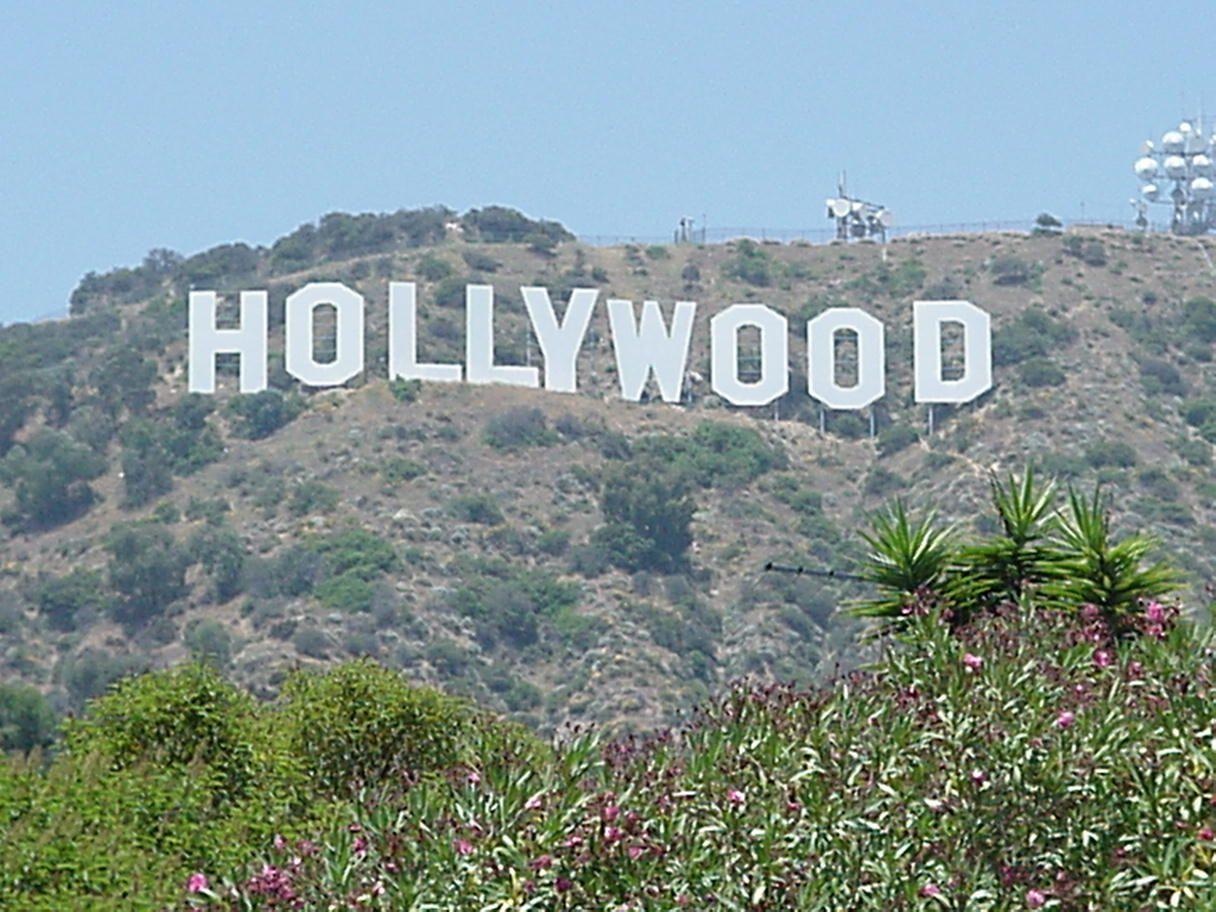 Hollywood hollywood light box city