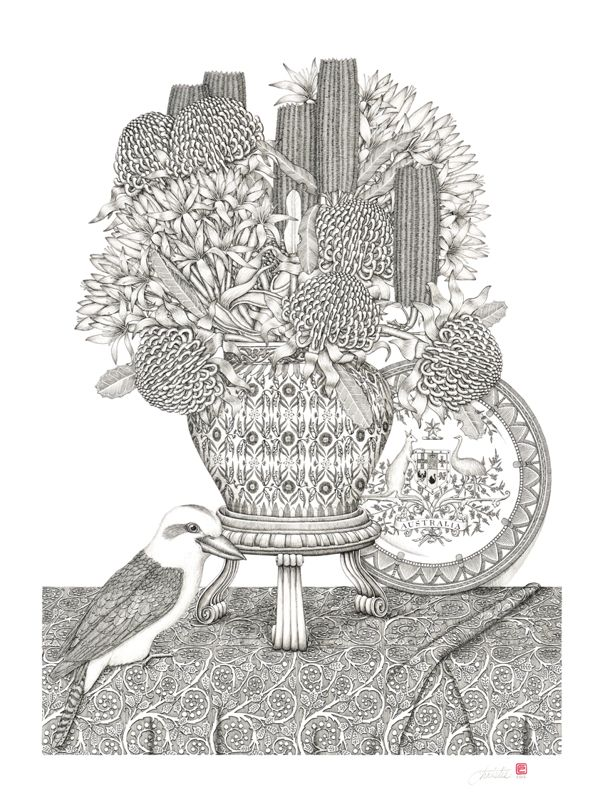 Illustrations with astonishing precision and exquisite detail | Patrick Christie