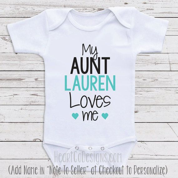 Personalized baby clothes my aunt loves me by newbornbabyclothes personalized baby clothes my aunt loves me by newbornbabyclothes negle Choice Image