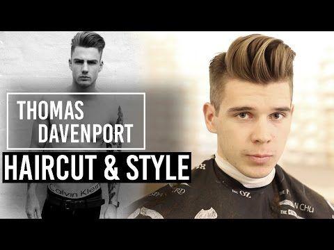 Thomas Davenport Haircut Style Inspiration Mens Haircut