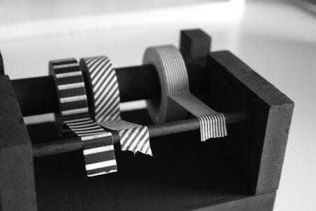 How to make a wooden masking tape dispenser