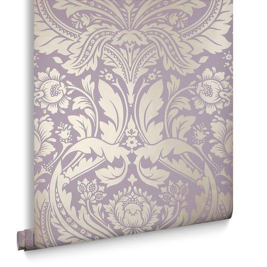 Desire Lavender Wallpaper | Graham & Brown UK | My Bedroom ...