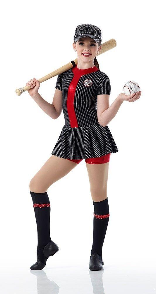 Dance Costume Jazz Tap baseball children art stone play ball