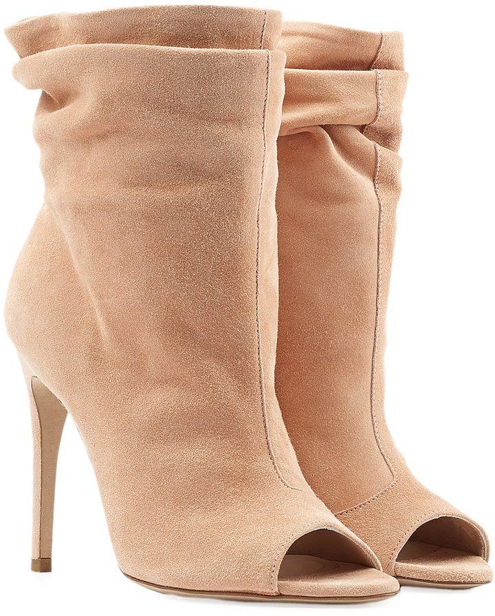4fb2bf65ebb2f Burberry Shoes   Accessories Burlison Suede Booties   BOOTIES ...