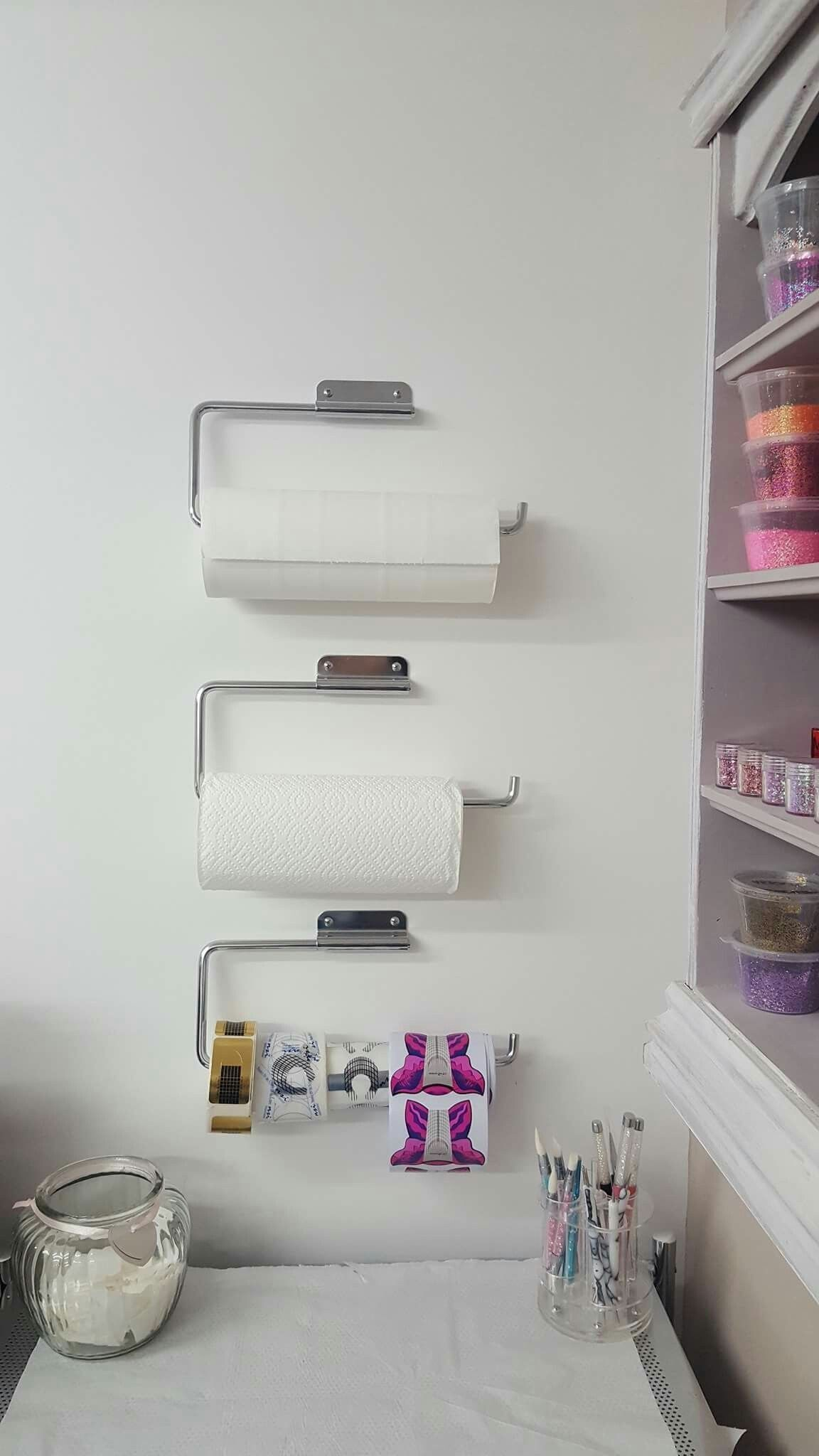 GREAT idea for storage and organization in your home nail