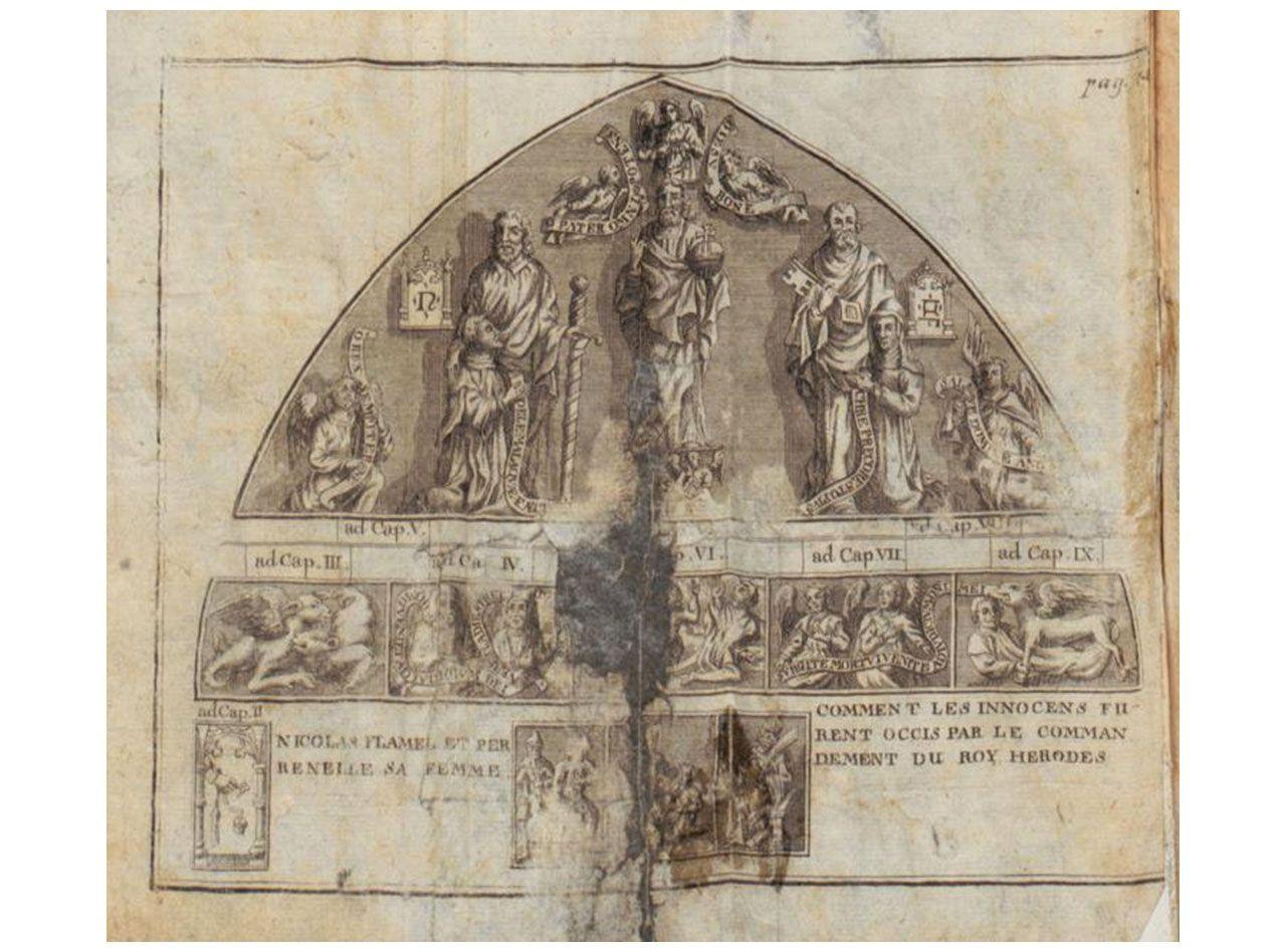 NICOLÁS FLAMEL (Pontoise, ca. 1330 – París, 22 de marzo de 1418)