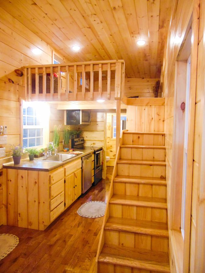 Dormer Loft Cottage By Molecule Tiny Homes: French Quarter By Incredible Tiny Homes