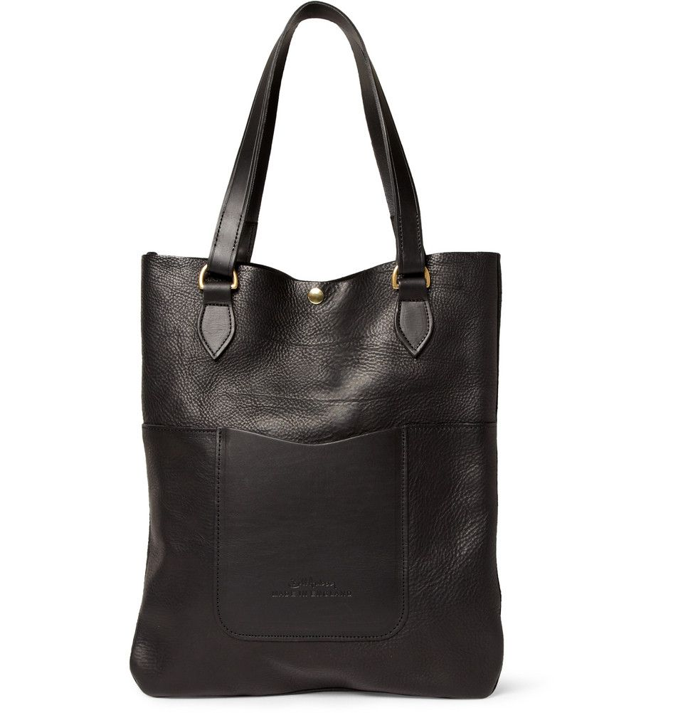 Bill Amberg Hunter Leather Tote Bag