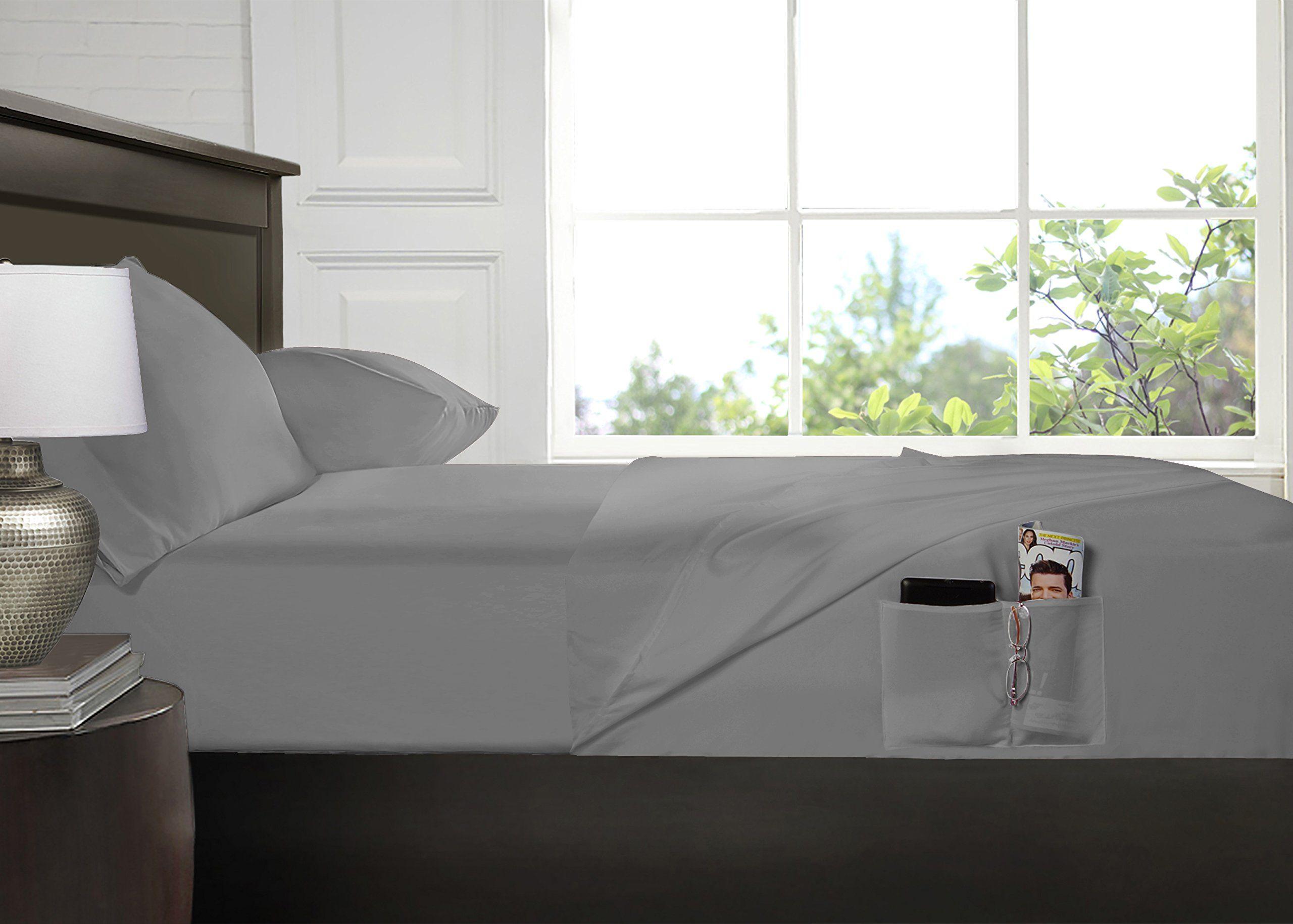 Smart Sheets® Brushed Microfiber 4Piece Bedding Set