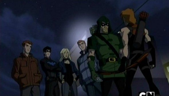 """The """"Arrow Family"""" from Young Justice Invasion   Comic ..."""