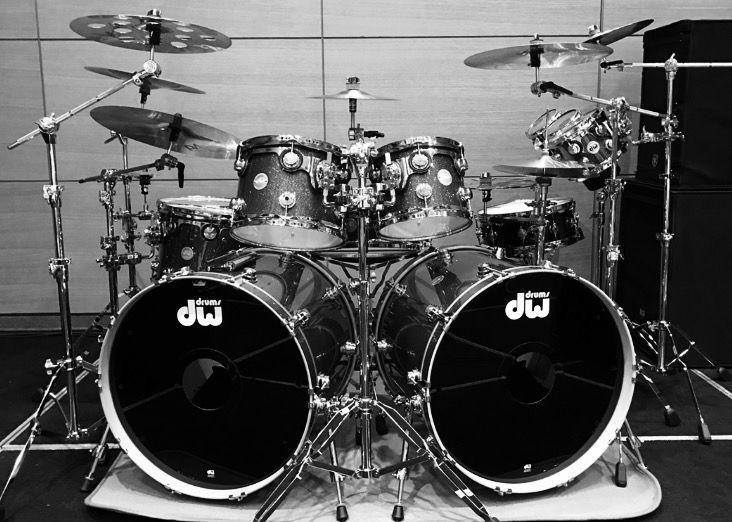 My Dw Drums Collector Series Fnishplay Legent Drum SetsDouble BassDrumsPercussionHeavy