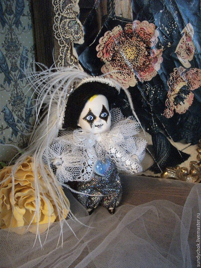 Купить мини куколка Николя - куколка для куколки, пьеро, венеция, мальчик игрушка