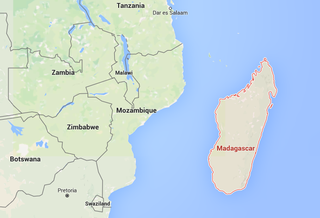 Inteersting facts: Madagascar on world map | thefactfile.org ...