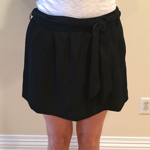 Express skirt mini skirt with belt wrap in good condition Express Skirts Mini
