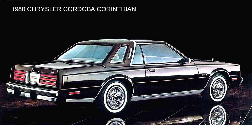 80 Chrysler Cordoba Corinthian Black Large Chrysler Cordoba