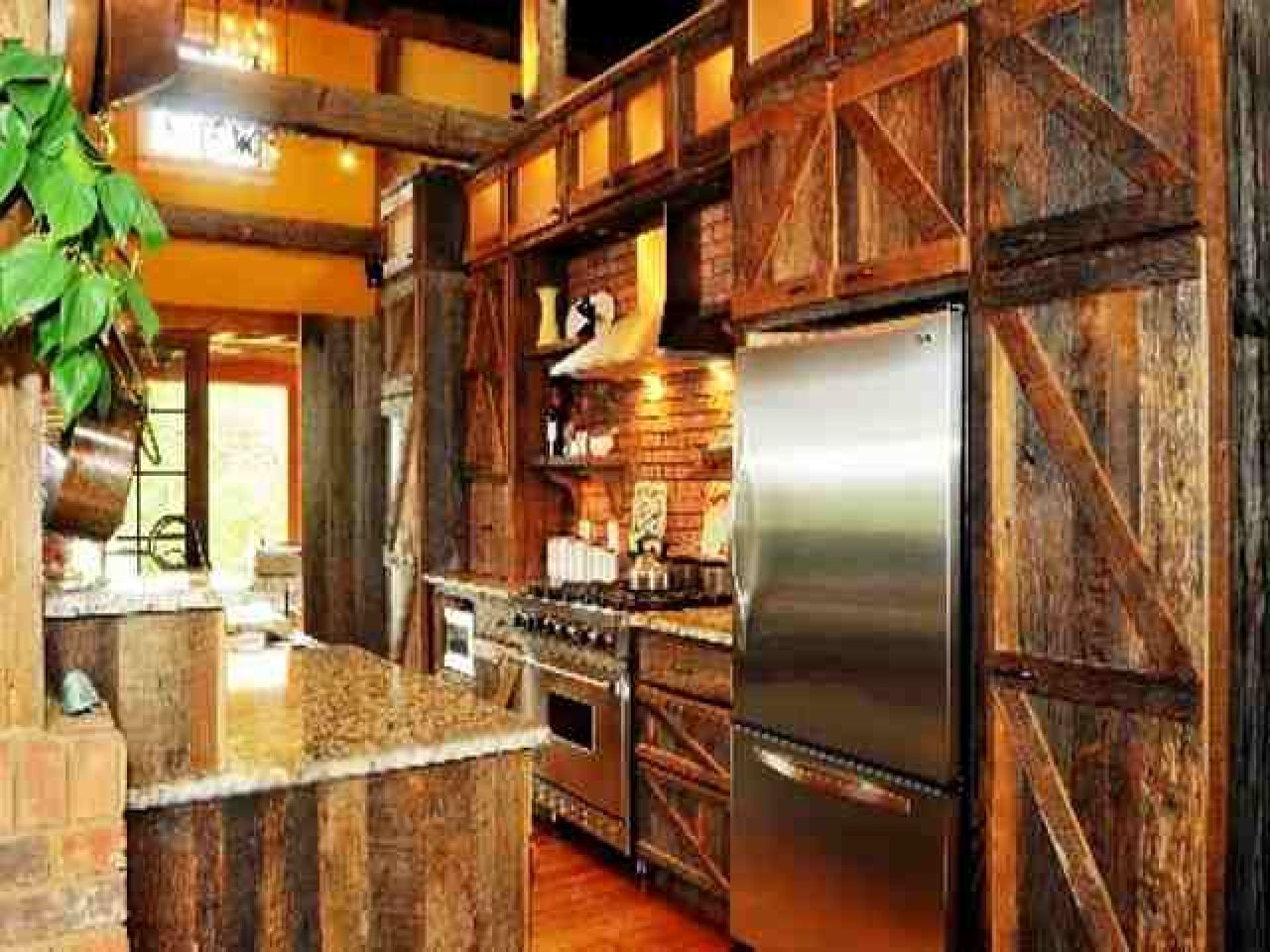 rustic barn cabinet doors. Barn Door Decorating Ideas Rustic Kitchen Cabinets Cabinet Doors B