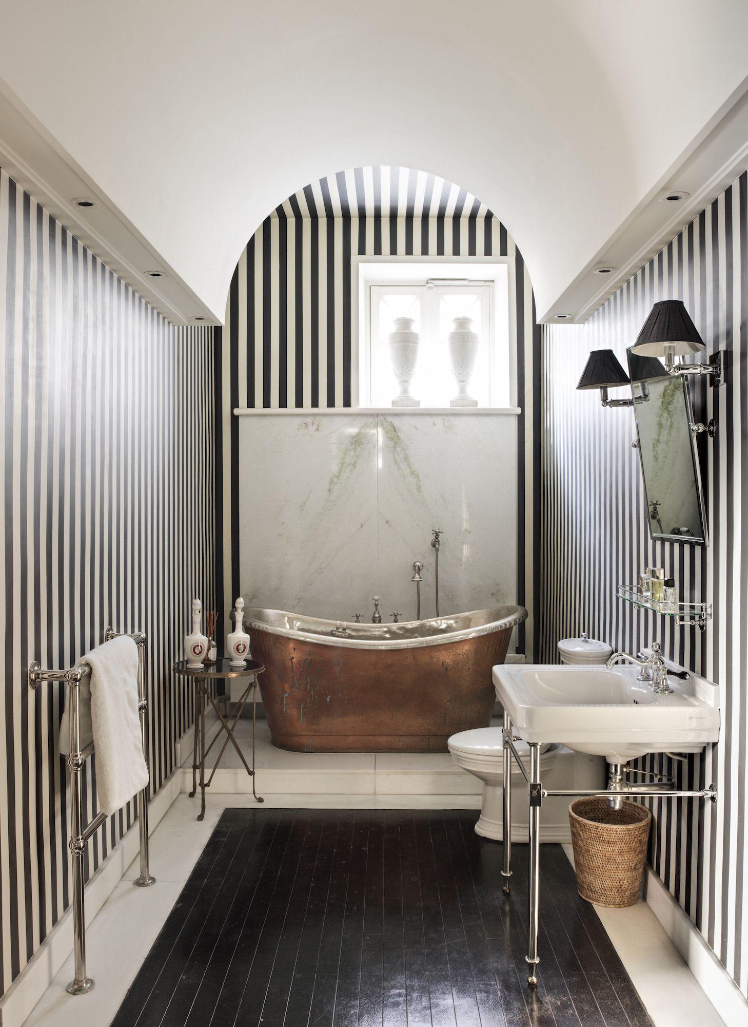 Paris Style Bathroom Decor: Tour Jamie Creel's Elegant Paris Apartment