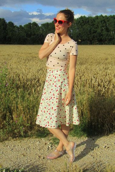 Cherries & Dots | Women's Look | ASOS Fashion Finder  http://www.missredcape.com/2014/07/mejor-pensar-bien.html