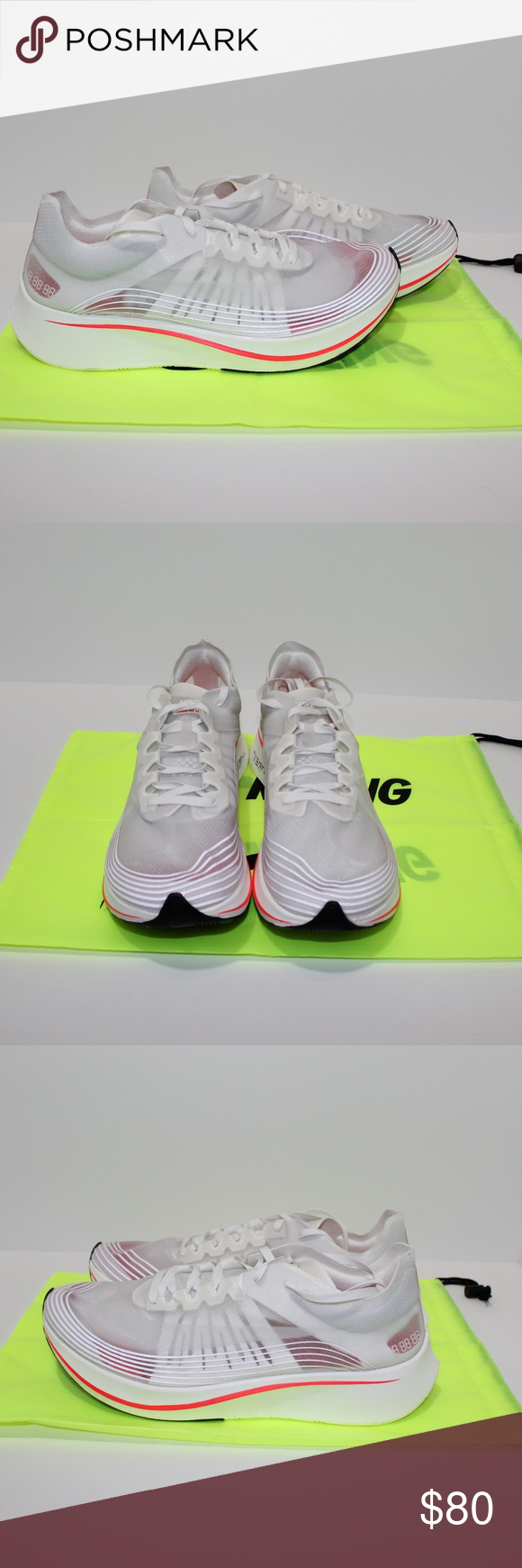 7a6d378777f5 NEW Nike Zoom Fly SP size 12 NEW Nike Zoom Fly SP Sail-Bright Crimson