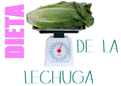 Dieta de la Lechuga 5 kilos en 7 días!