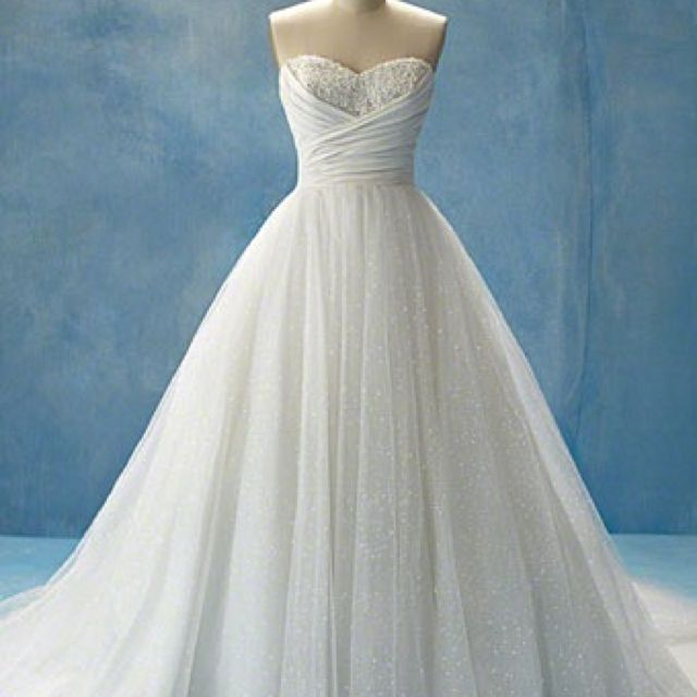 This cinderella inspired wedding dress looks amazing with for Cinderella inspired wedding dress
