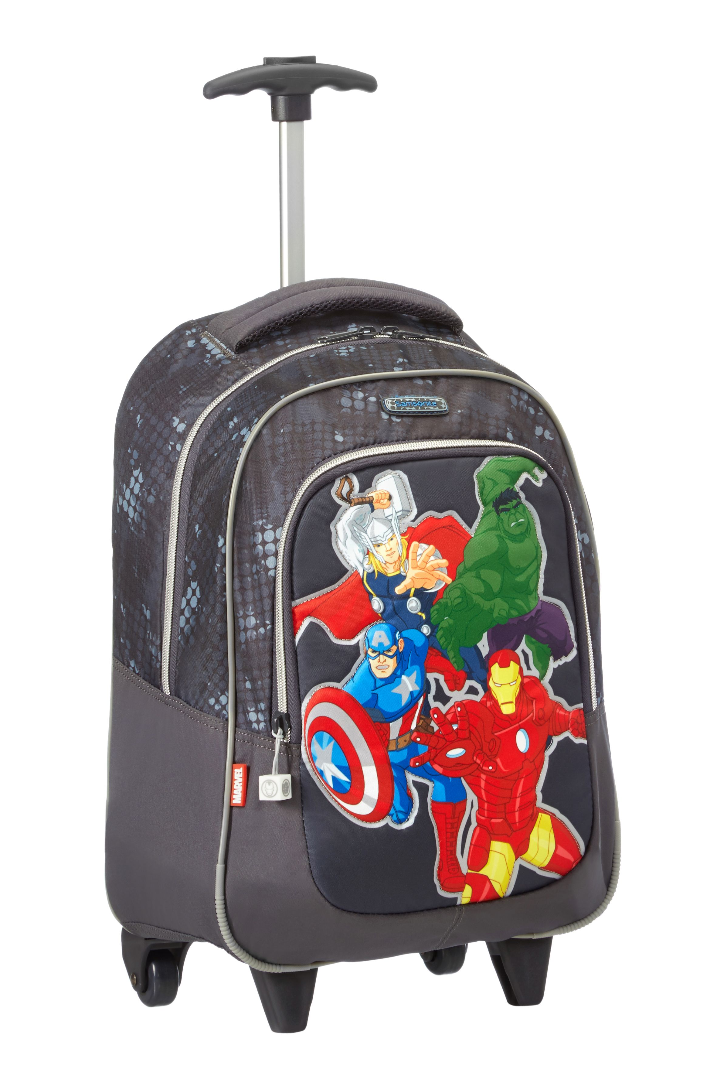 250d4ae80d Marvel Wonders - Avengers Backpack Wheels  Disney  Samsonite  Avengers   Hulk  IronMan  CaptainAmerica  Thor  Marvel  Travel  Kids  School   Schoolbag ...