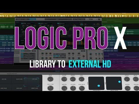 Move Logic Pro X Sound Libraries to External Hard Drive | Maschine Masters